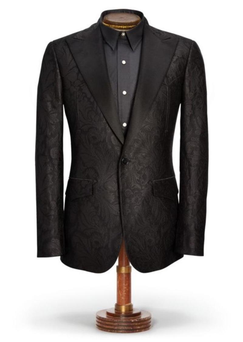 6d1e8b82 Ralph Lauren Western Tuxedo Jacket | Sportcoats Blazers