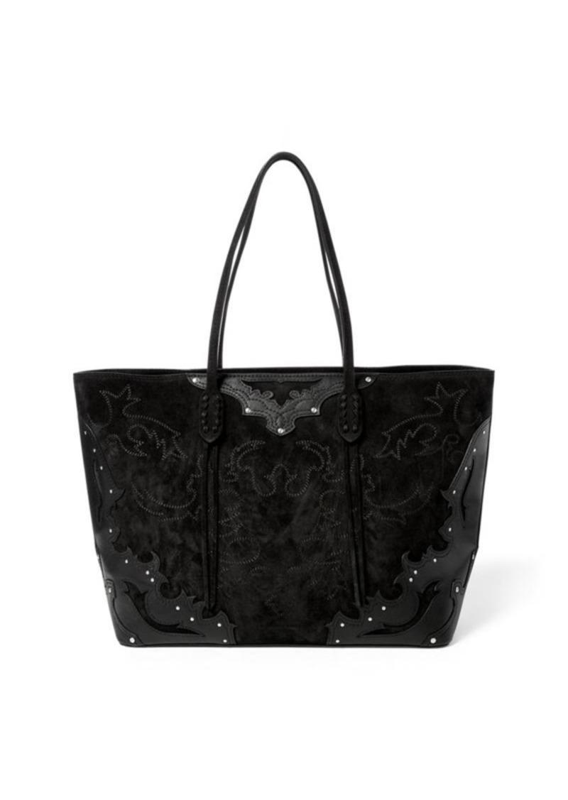 f1ded783596 SALE! Ralph Lauren Western Zip Tote Bag