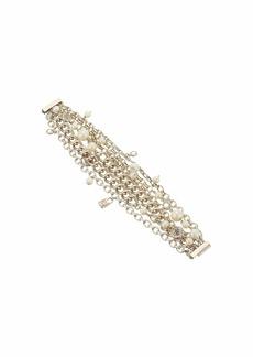 Ralph Lauren White Pearl Crest Bracelet