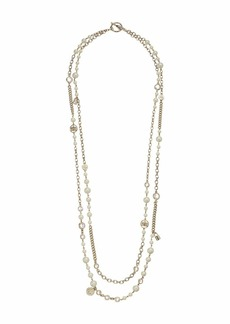 Ralph Lauren White Pearl Strand Necklace