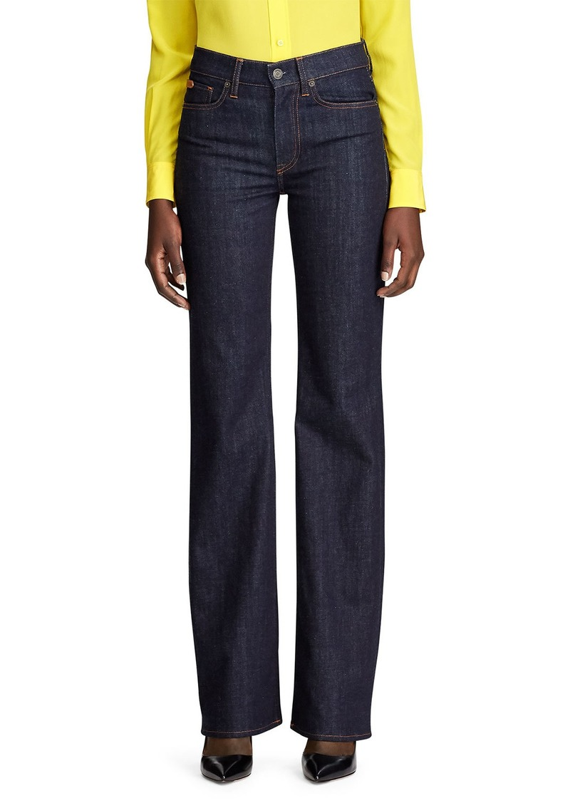 Ralph Lauren Wide Leg Denim Jean