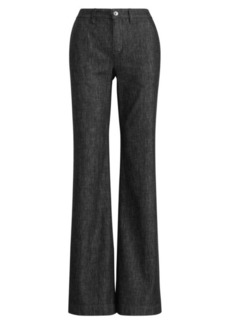 Wide-Leg Denim Pant