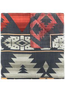 Ralph Lauren geometric-pattern voile scarf