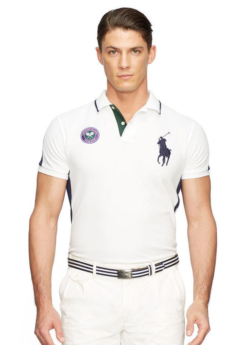 Ralph Lauren Wimbledon Custom-Fit Polo