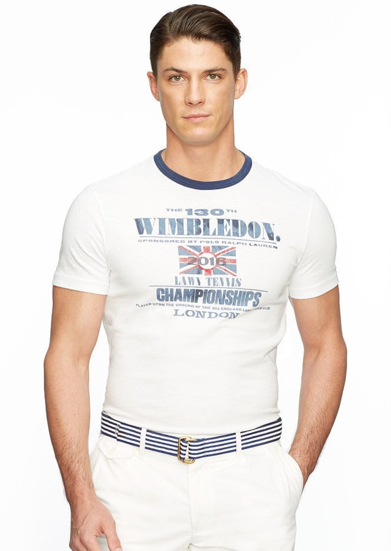Ralph Lauren Wimbledon Custom-Fit T-Shirt
