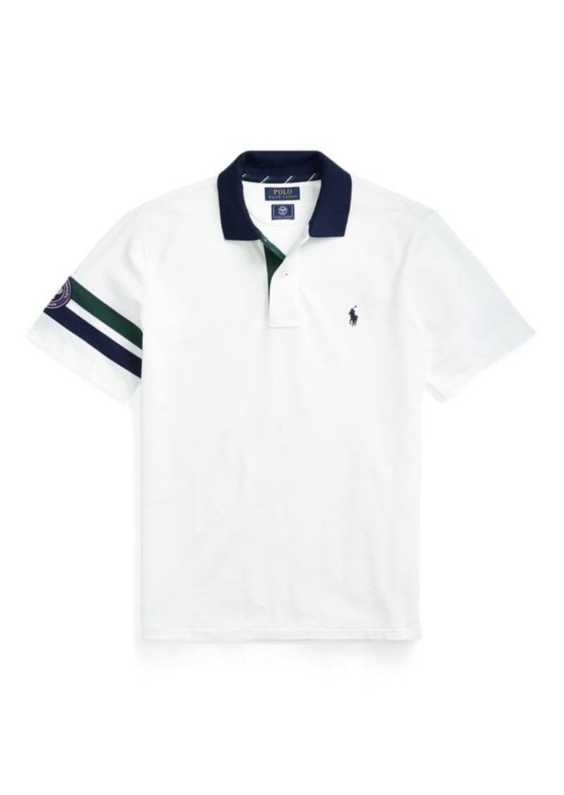 Ralph Lauren Wimbledon Custom Slim Fit Polo Casual Shirts