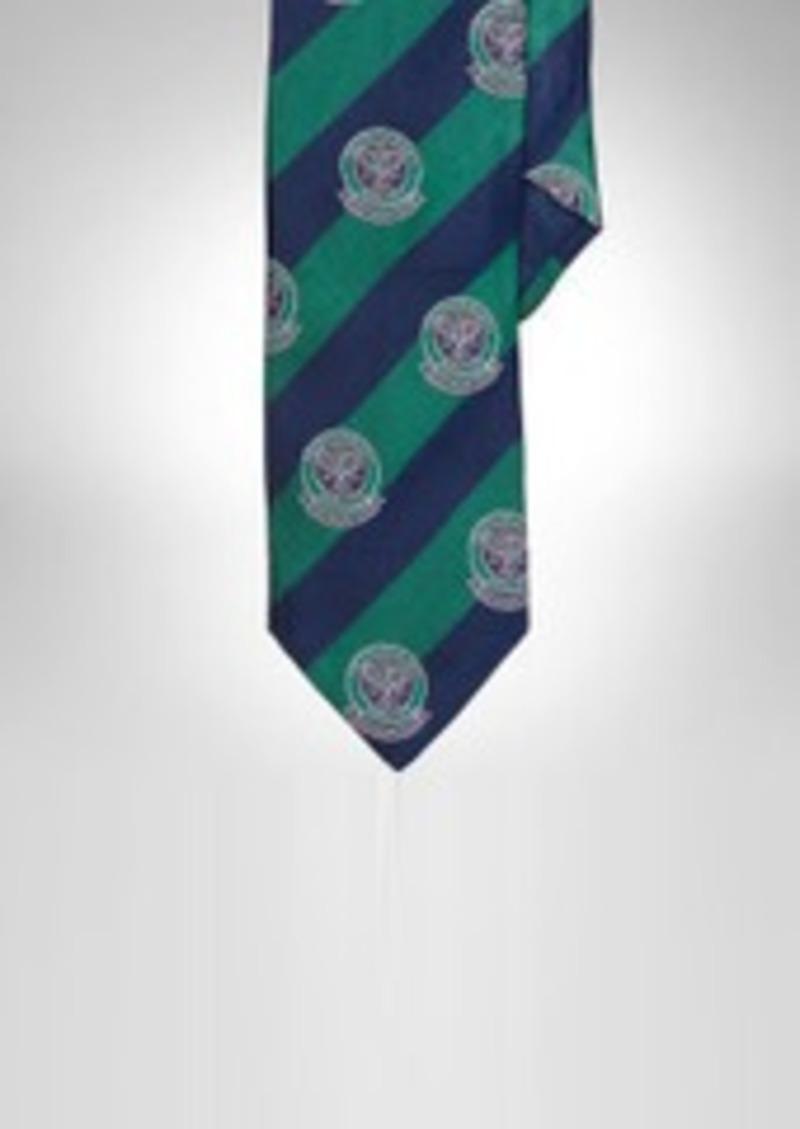 Ralph Lauren Wimbledon Silk Narrow Tie