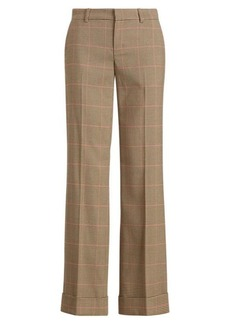 Ralph Lauren Windowpane Twill Trouser