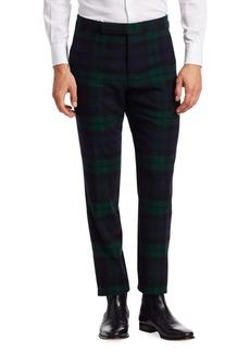 Ralph Lauren Wool & Cashmere Tartan Pants
