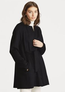 Ralph Lauren Wool-Blend Belted Coat