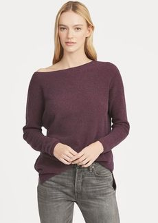Ralph Lauren Wool-Blend Boatneck Top