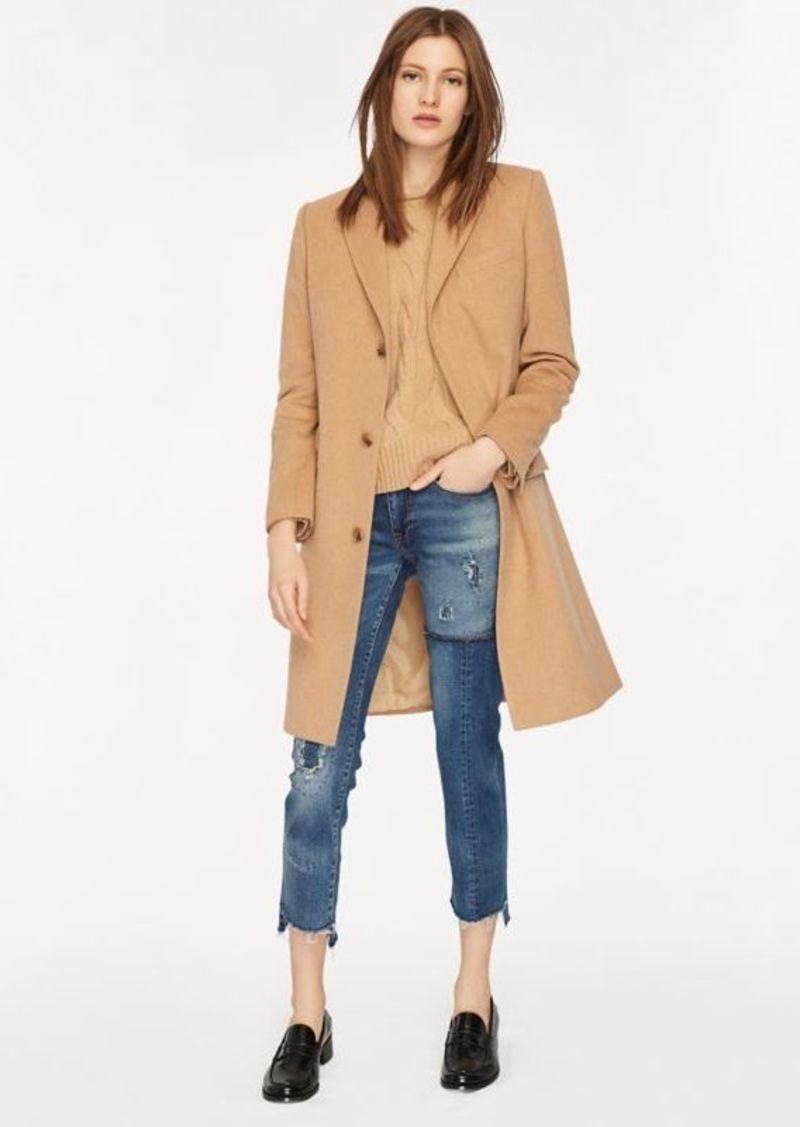 Ralph Lauren Wool-Blend Chesterfield Coat