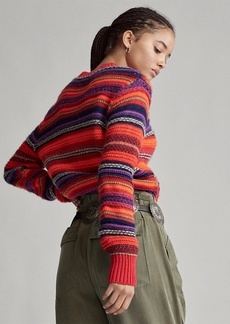 Ralph Lauren Wool-Blend Crewneck Sweater