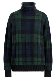 Ralph Lauren Wool-Blend Funnelneck Sweater