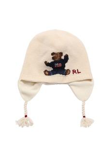 Ralph Lauren Wool Blend Intarsia Knit Hat