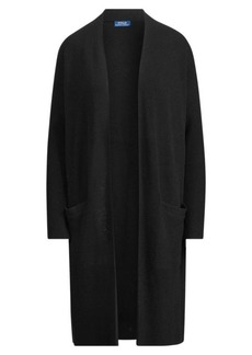 Ralph Lauren Wool-Blend Open-Front Cardigan