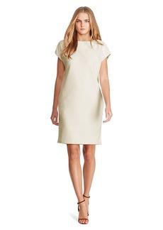 Ralph Lauren Wool-Blend Shift Dress