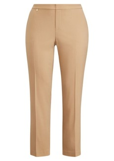 Ralph Lauren Wool-Blend Straight-Leg Pant