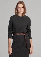 Ralph Lauren Wool-Blend Sweater Dress