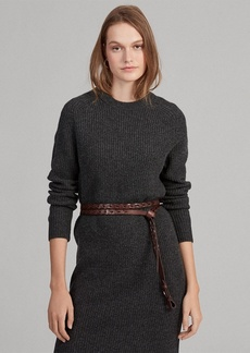 Ralph Lauren Wool-Blend Sweater Dress