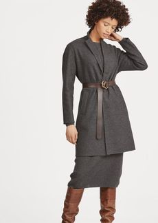 Ralph Lauren Wool-Blend Trench Coat