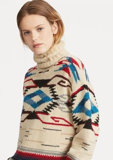 Ralph Lauren Wool-Blend Turtleneck Sweater