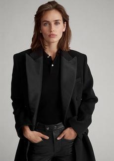Ralph Lauren Wool-Blend Tuxedo Coat