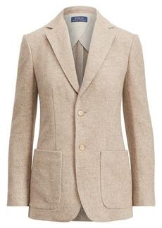 Ralph Lauren Wool-Blend Tweed Blazer