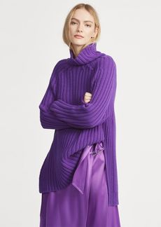 Ralph Lauren Wool-Cashmere Turtleneck
