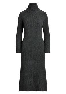 Ralph Lauren: Polo Wool-Cashmere Turtleneck Dress