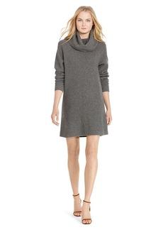 Wool-Cashmere Turtleneck Dress