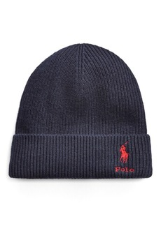 Ralph Lauren Wool-Cashmere Watch Cap