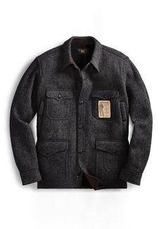 Ralph Lauren Wool-Cotton Shirt Jacket