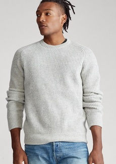 Ralph Lauren Wool Raglan Crewneck Sweater