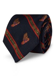 Ralph Lauren Wool-Silk Narrow Tie