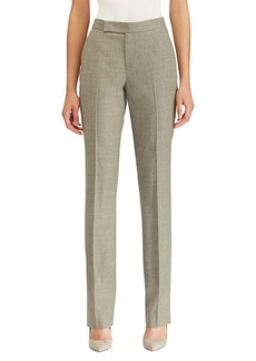 Ralph Lauren Wool Straight-Leg Pants