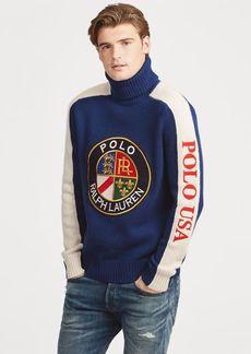 Ralph Lauren Wool Turtleneck Sweater