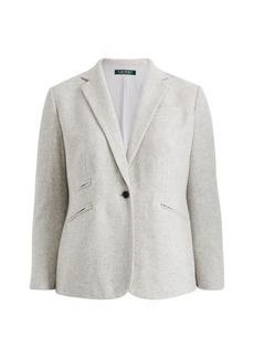 Ralph Lauren Wool Tweed Blazer