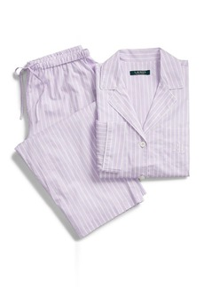 Ralph Lauren Woven Capri Pajama Set