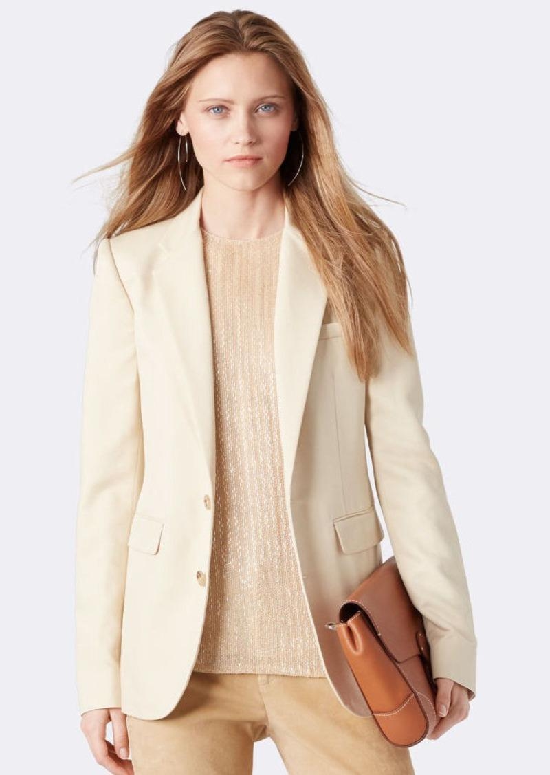 Ralph Lauren Yvette Silk Jacket