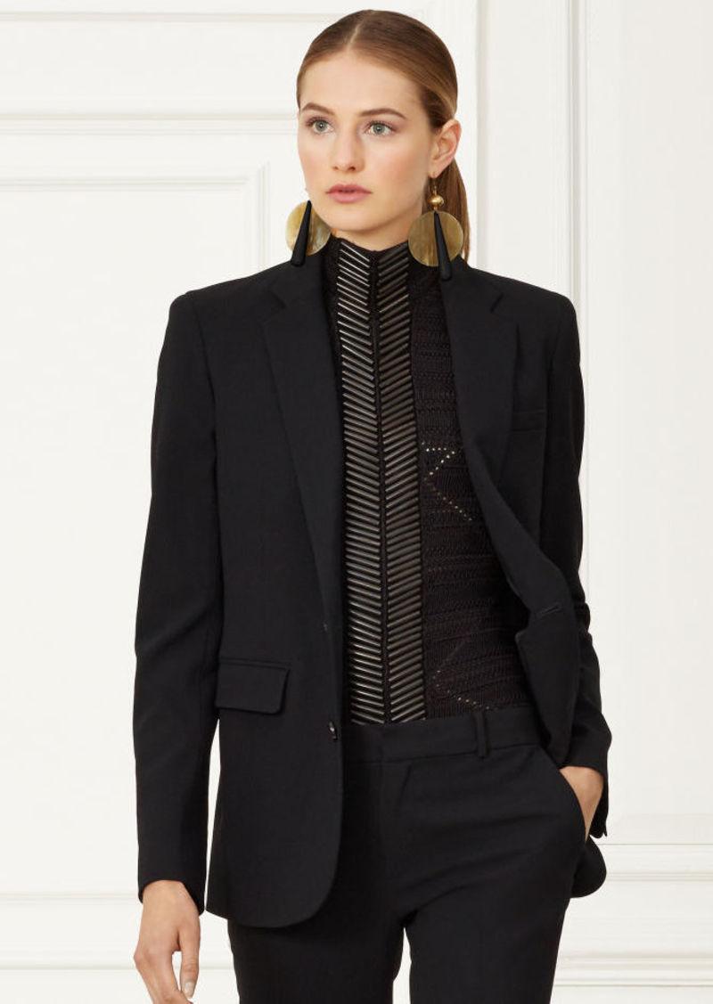 Ralph Lauren Yvette Stretch-Wool Jacket