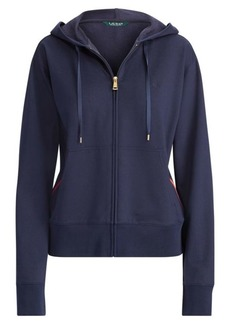 Ralph Lauren Zip-Front Cotton-Blend Hoodie