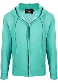 Ralph Lauren zipped cotton-blend hoodie