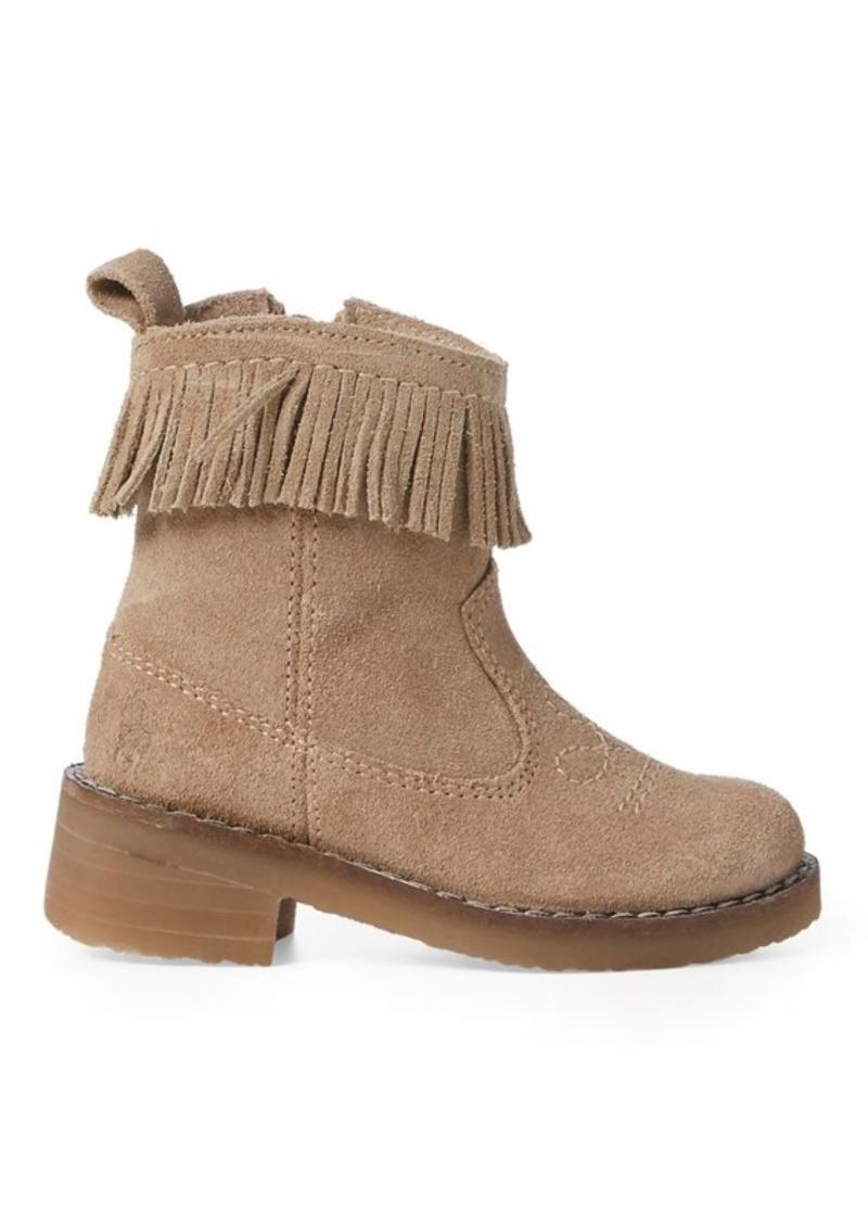 Ralph Lauren Zyla Fringe Suede Boot