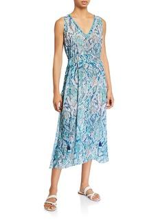 Ramy Brook Aleena Viper Print Dress