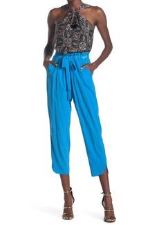 Ramy Brook Allyn Silk Blend Cropped Pants