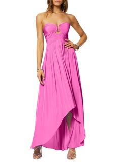 Ramy Brook Andi Strapless Cocktail Dress