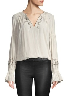 Ramy Brook Antonia Peasant Blouse