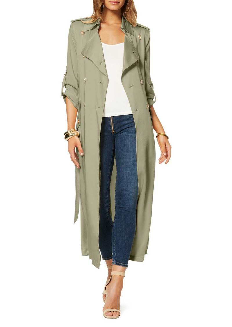 Ramy Brook Aston Double-Breasted Trench Jacket