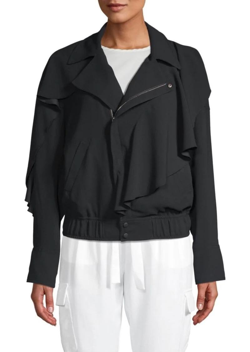 Ramy Brook Asymmetrical Zip-Front Jacket
